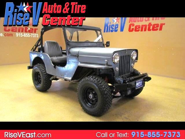 1954 Willys Jeep CJ-3B Universal