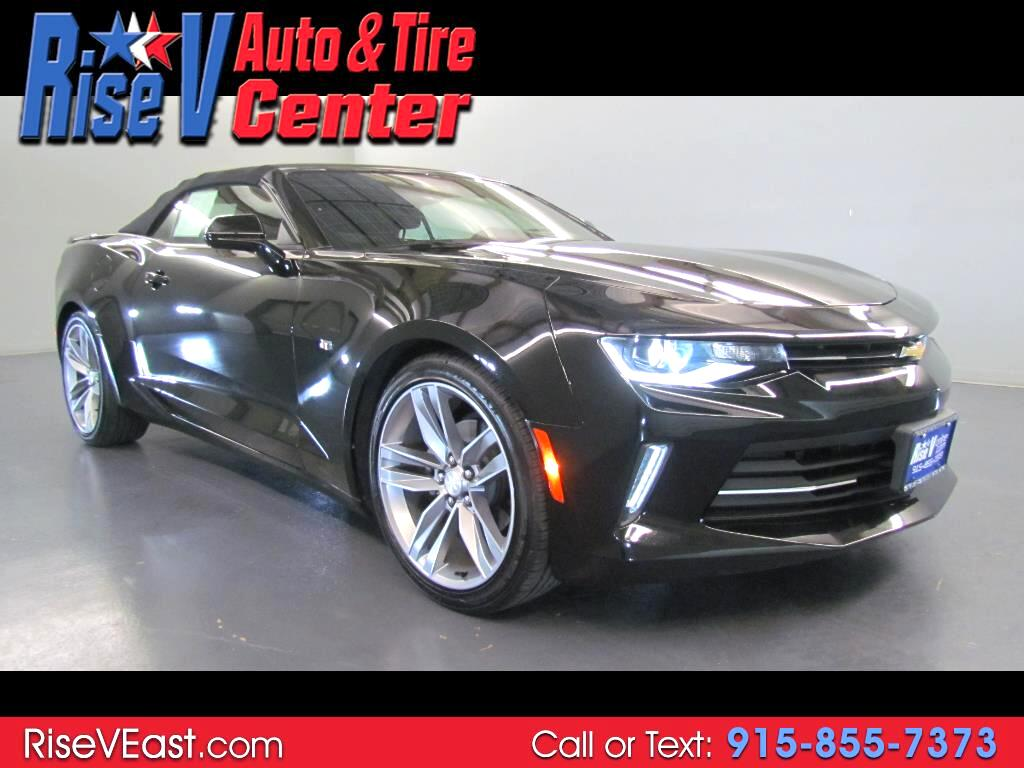 2017 Chevrolet Camaro 2dr Convertible RS