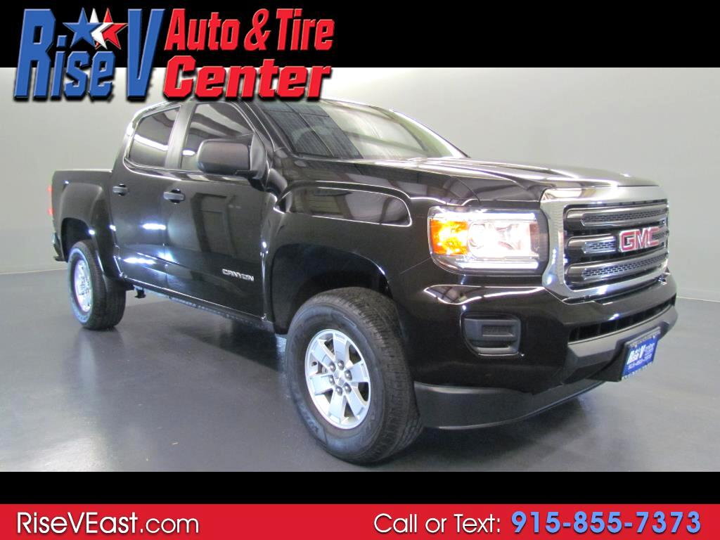 2016 GMC Canyon SLE Crew Cab 2WD Short Box