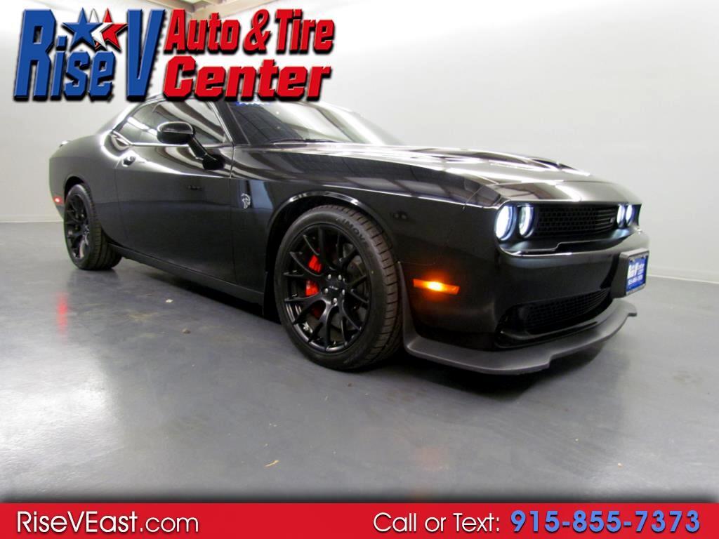 2015 Dodge Challenger 2dr Cpe SRT Hellcat