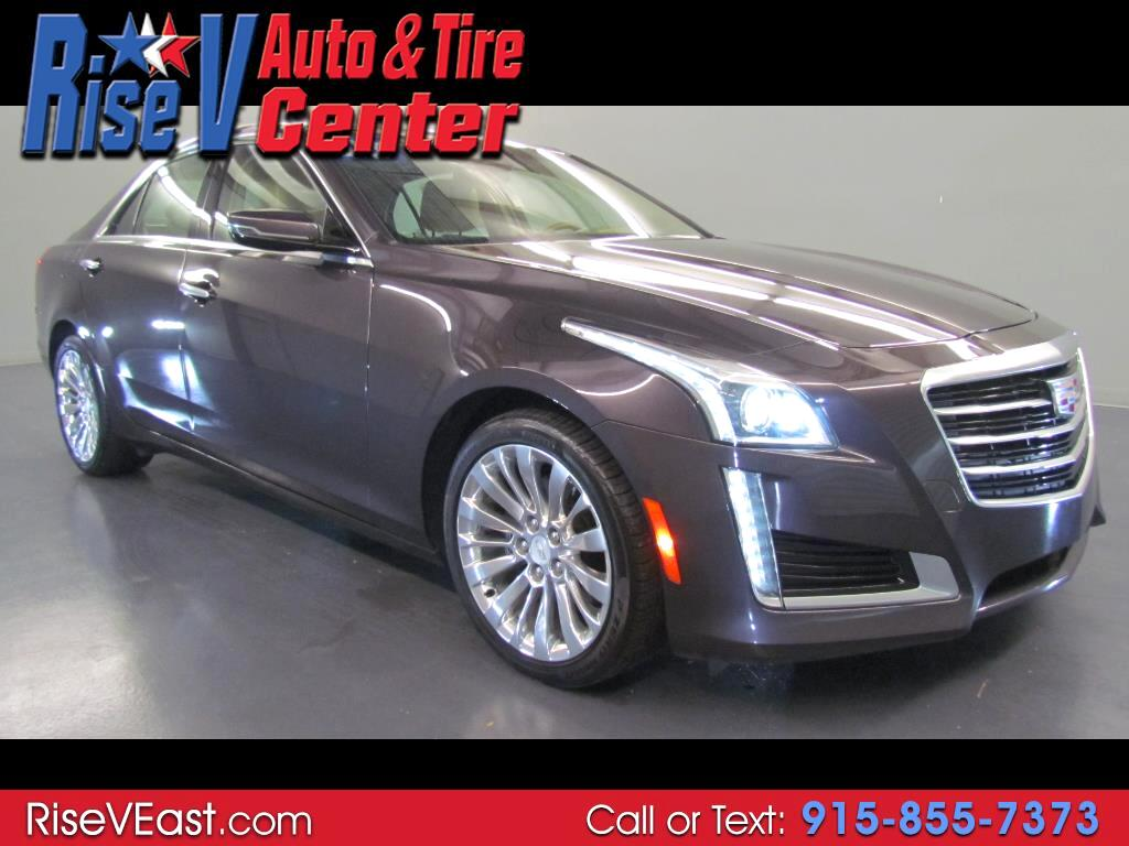 2015 Cadillac CTS Sedan 4dr Sdn 2.0L Turbo Luxury AWD