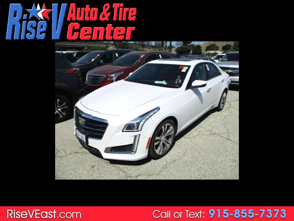 2015 Cadillac CTS Sedan 4dr Sdn 3.6L Twin Turbo Vsport Premium RWD