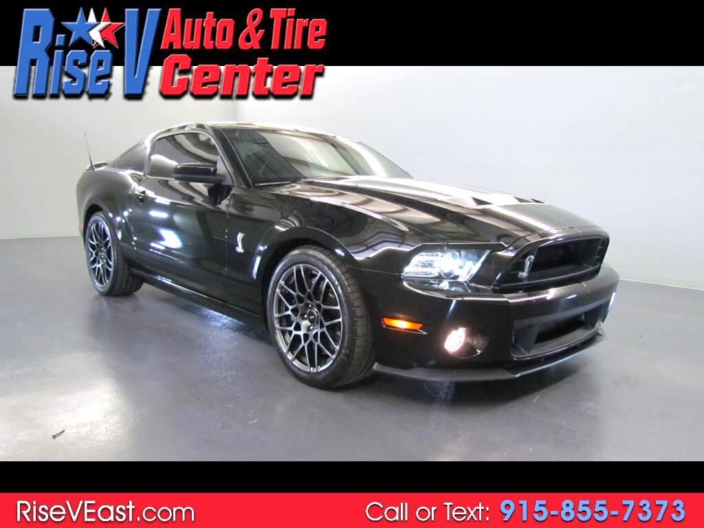 2013 Ford Mustang 2dr Cpe Shelby GT500