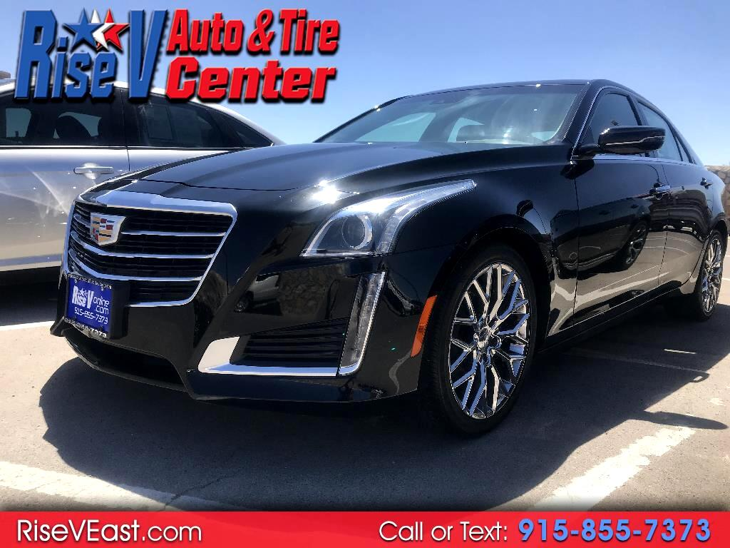 2016 Cadillac CTS Sedan 4dr Sdn 2.0L Turbo Luxury Collection RWD