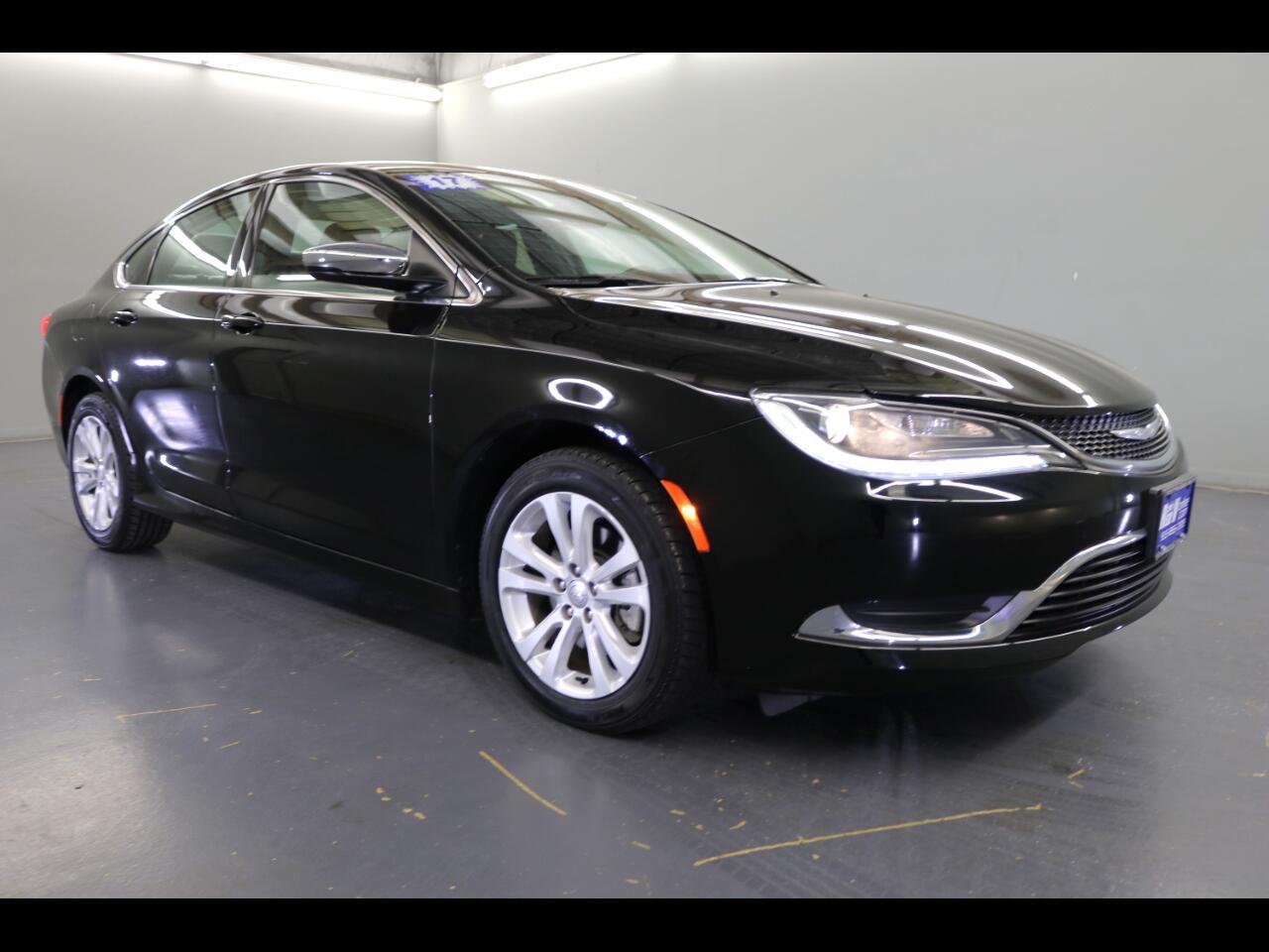 2017 Chrysler 200 Limited Platinum FWD