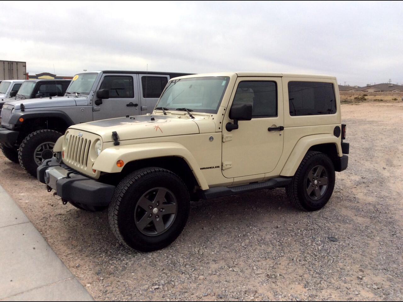 2011 Jeep Wrangler 4WD 2dr Mojave