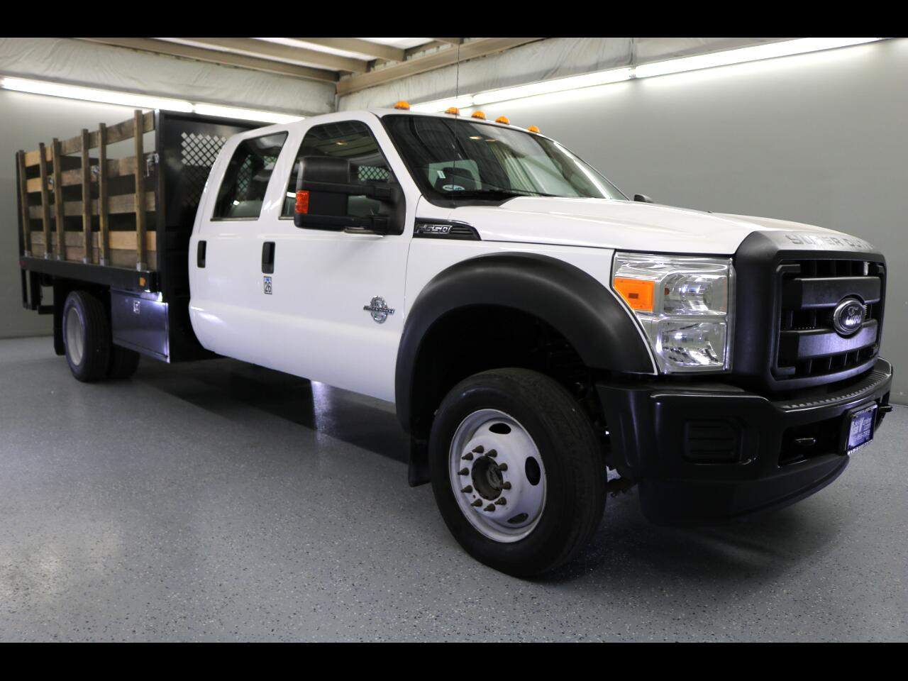 "2015 Ford Super Duty F-550 DRW 4WD Crew Cab 176"" WB 60"" CA XL"