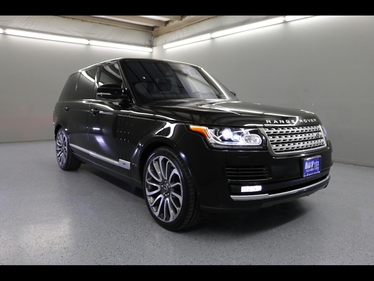 2016 Land Rover Range Rover 4WD 4dr Supercharged LWB