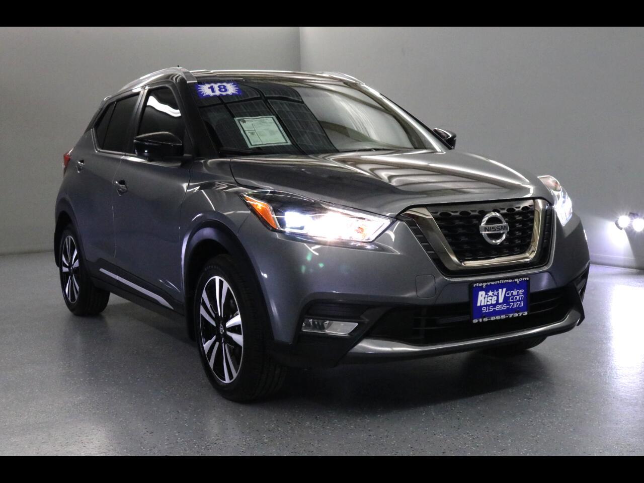 2018 Nissan Kicks SR FWD