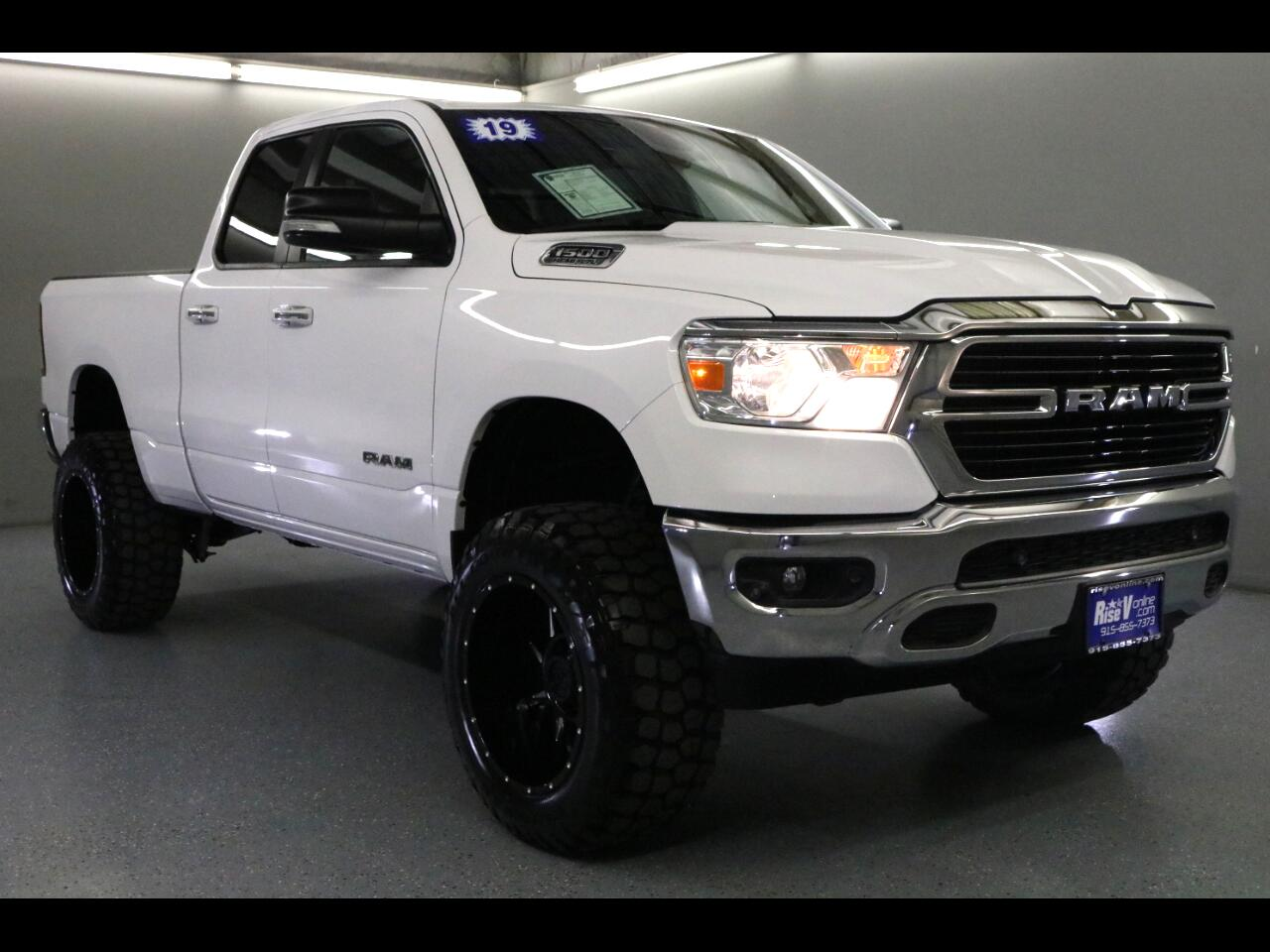 "2019 RAM 1500 Big Horn/Lone Star 4x4 Quad Cab 6'4"" Box"