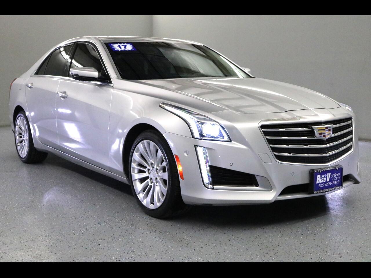 2017 Cadillac CTS Sedan 4dr Sdn 3.6L Premium Luxury AWD