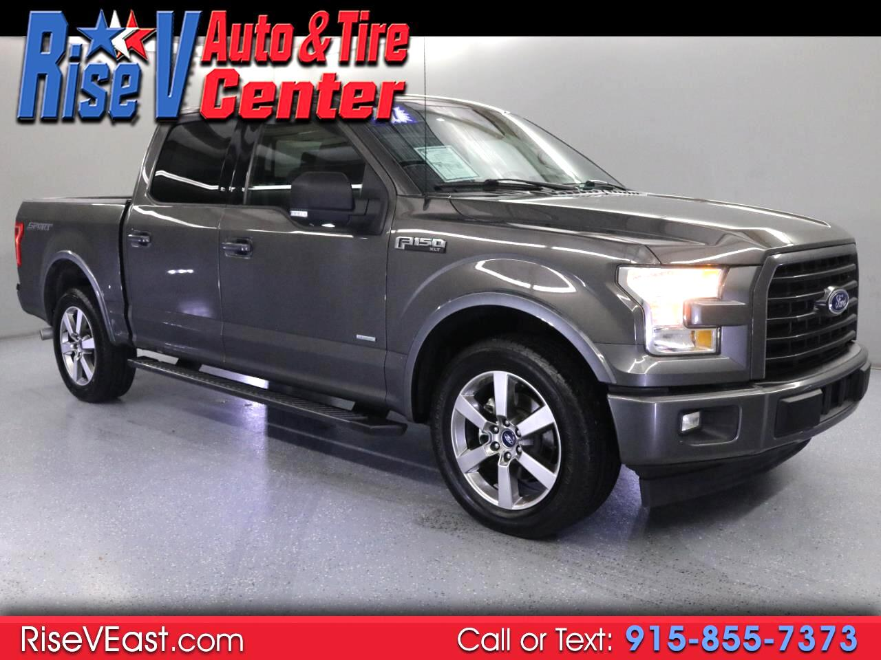 Ford F-150 XLT SuperCrew 5.5-ft. Bed 2WD 2017