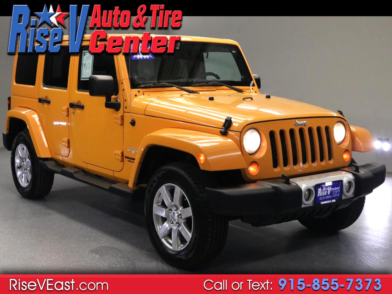 Jeep Wrangler Unlimited Sahara 4WD 2012