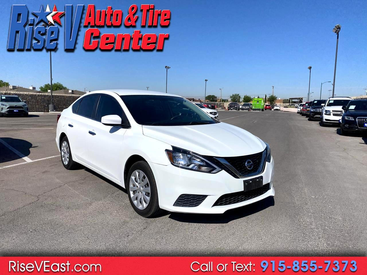 used 2017 nissan sentra sv for sale in el paso tx 79936 rise v auto tire center rise v auto tire center