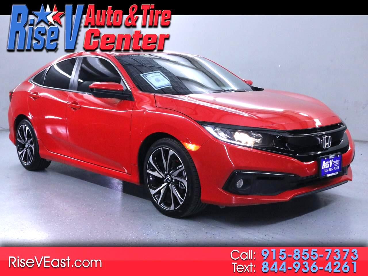 Honda Civic EX Honda Sensing Sedan CVT 2020