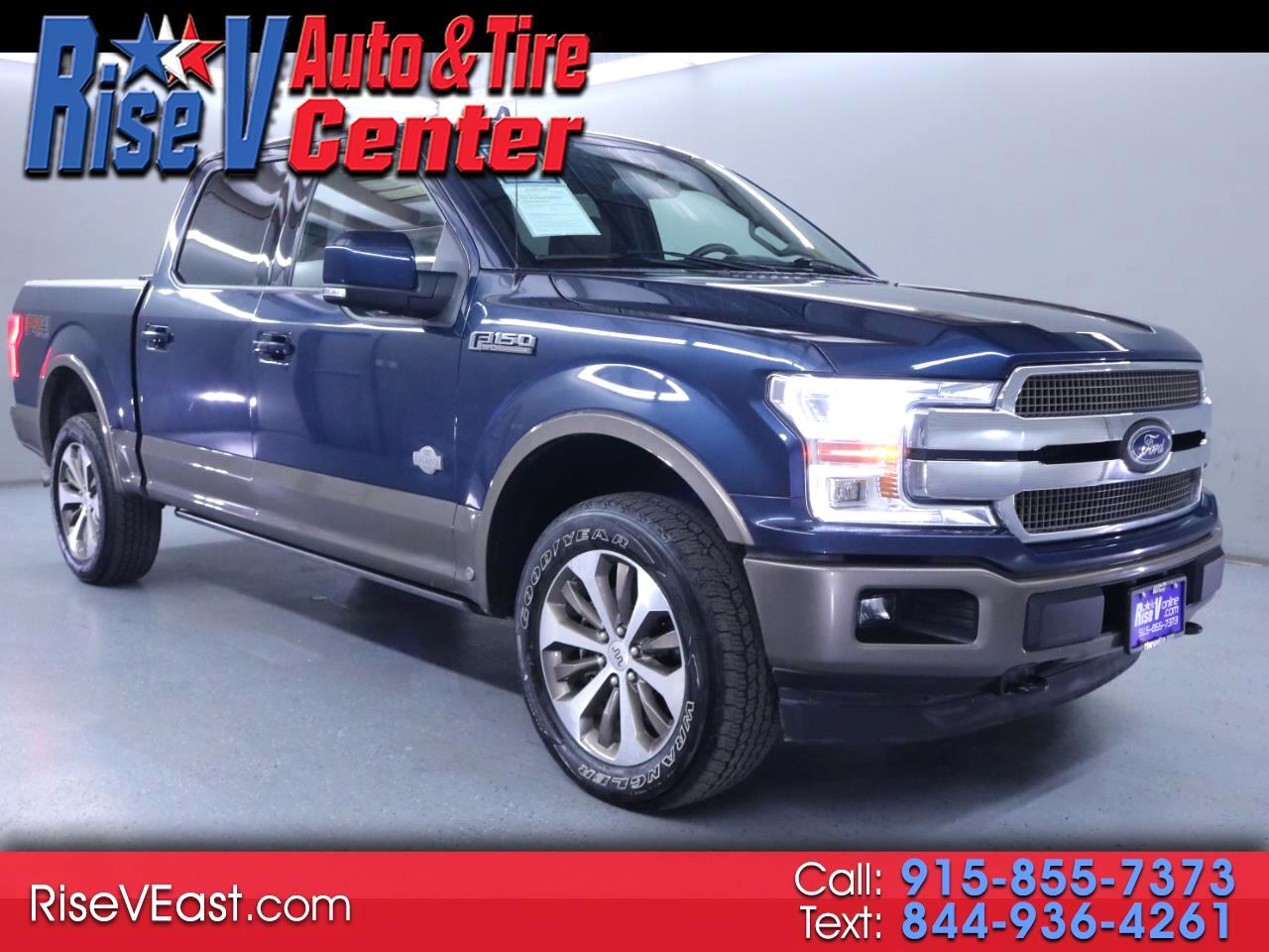 Ford F-150 King-Ranch SuperCrew 5.5-ft. 4WD 2020