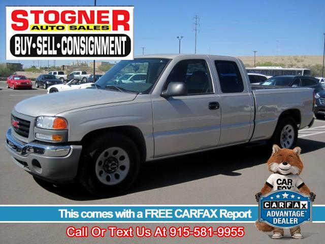 2005 GMC Sierra 1500 Ext. Cab Short Bed 2WD