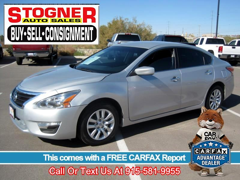 Used 2015 Nissan Altima For Sale In El Paso Tx 79922 Stogner Auto Sales