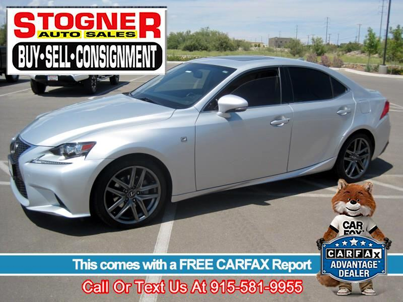 2014 Lexus IS 250 RWD F SPORT