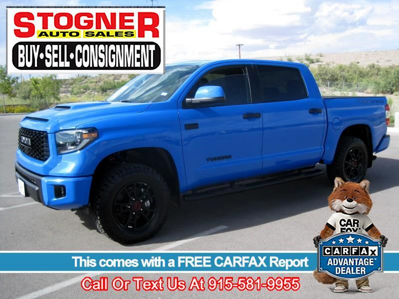Used 2019 Toyota Tundra TRD PRO CREWMAX 4WD for Sale in El
