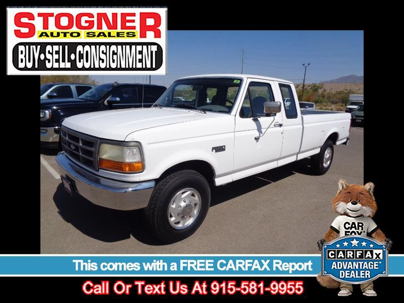 Ford F-250 XL HD SuperCab Long Bed 2WD 1997