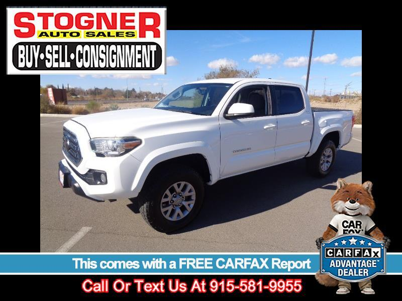 Toyota Tacoma 4WD Double Cab V6 AT (Natl) 2017