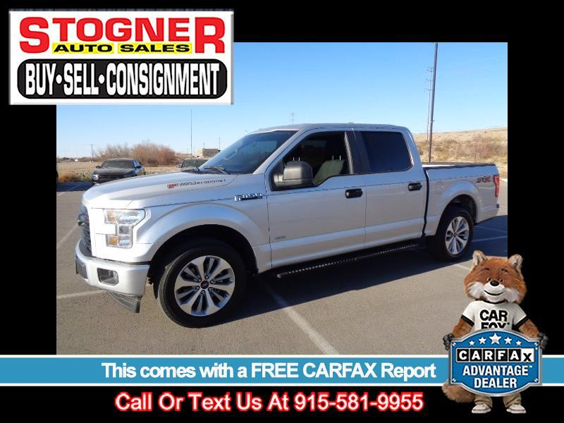 Ford F-150 XL SuperCrew 5.5-ft. Bed 2WD 2017