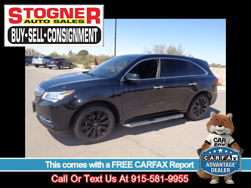 Acura MDX 9-Spd AT w/Tech Package 2016
