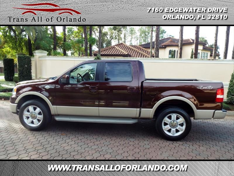 Ford F-150 Lariat SuperCrew 4WD 2008