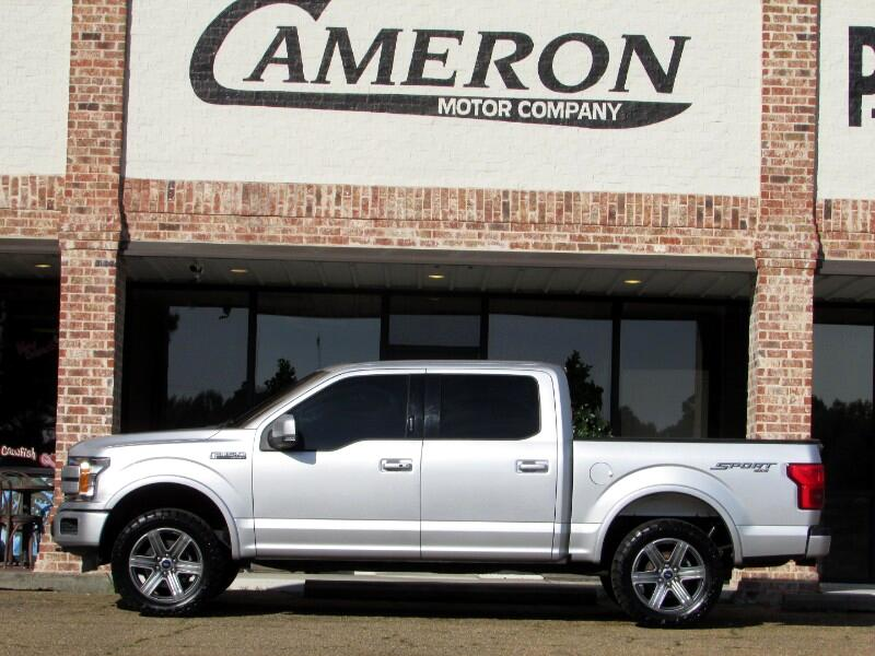 Ford F-150 Lariat 4WD SuperCrew 5.5' Box 2018