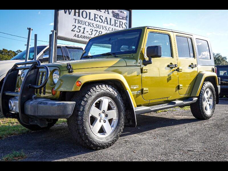 Jeep Wrangler Unlimited Sahara 2WD 2008