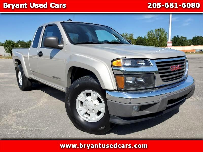 "GMC Canyon 2WD Ext Cab 128.3"" SLE 2004"