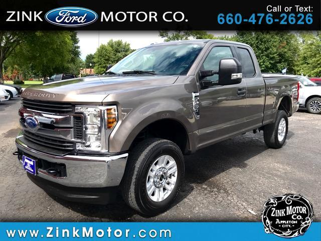 2018 Ford F-250 SD XLT SuperCab 4WD