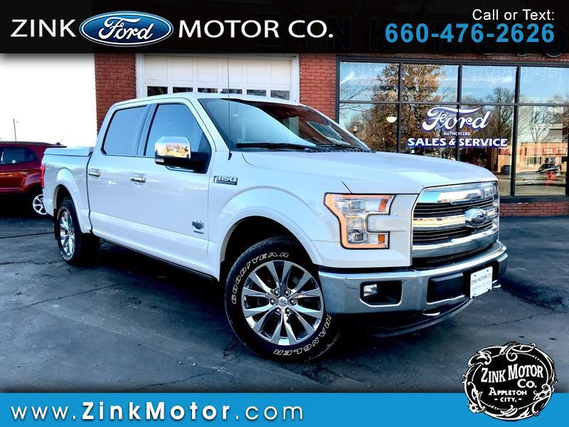 "2015 Ford F-150 4WD SuperCrew 139"" King Ranch"