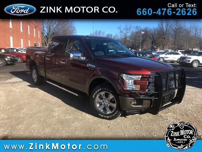 "2016 Ford F-150 4WD SuperCrew 157"" Lariat"