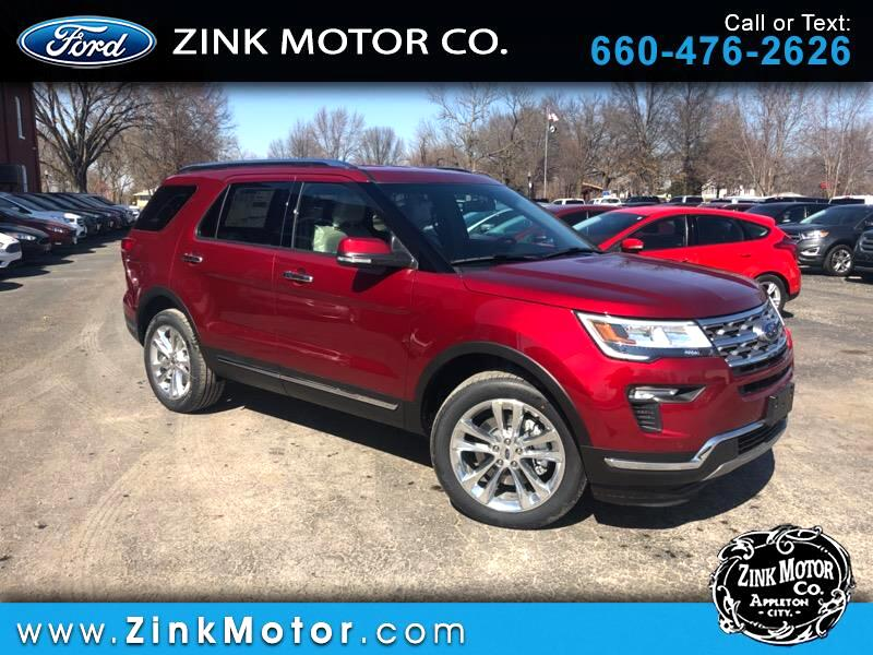 2019 Ford Explorer Limited 4WD