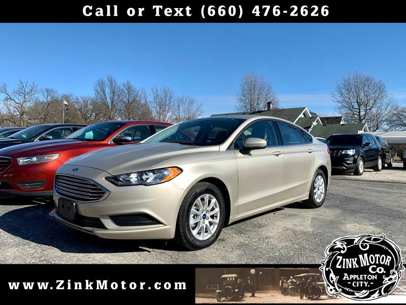 Ford Fusion 4dr Sdn I4 S 2018
