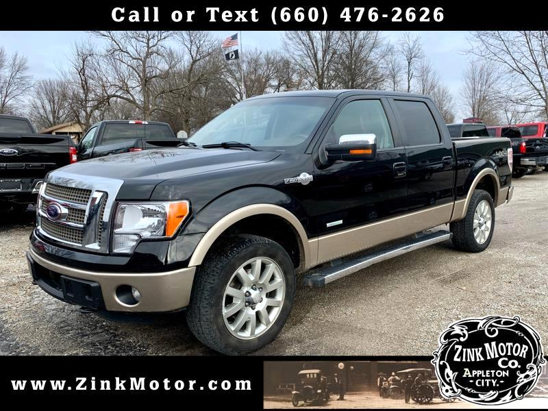 """Ford F-150 4WD SuperCrew 139"""" King Ranch 2012"""