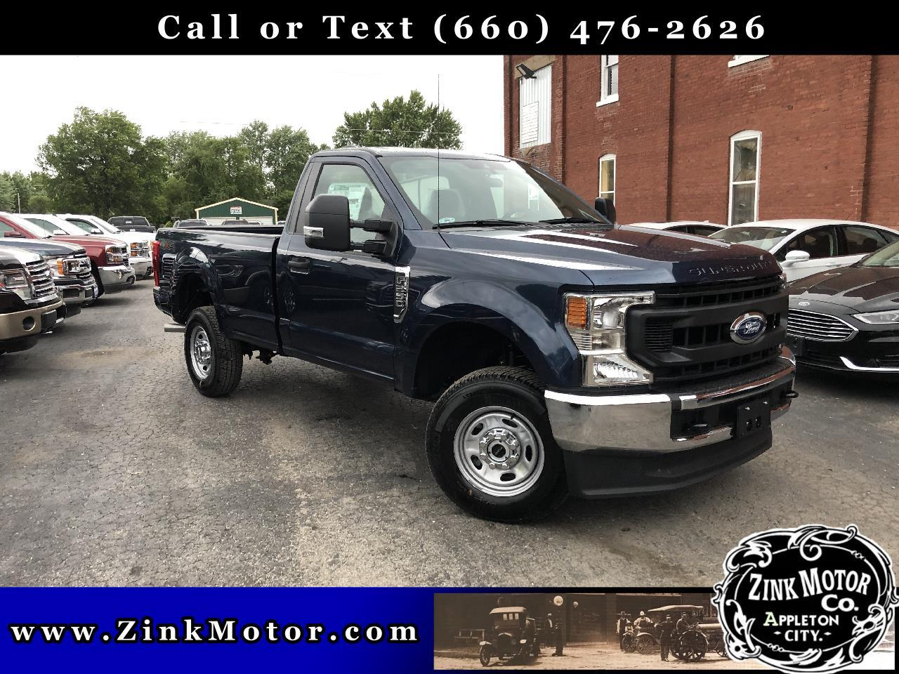 Ford Super Duty F-250 SRW XL 4WD Reg Cab 8' Box 2020