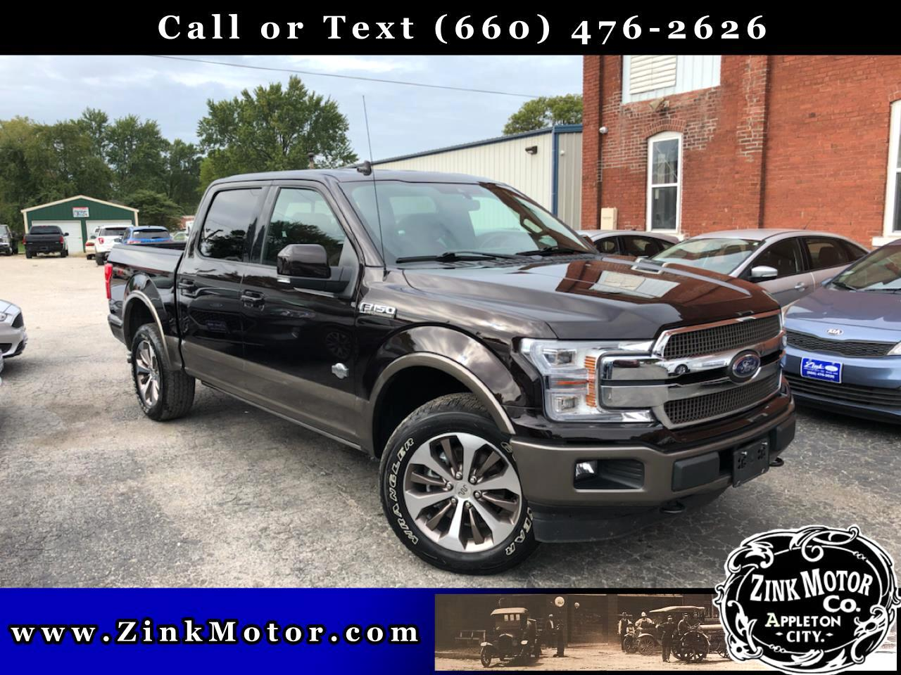 Ford F-150 King Ranch 4WD SuperCrew 5.5' Box 2020