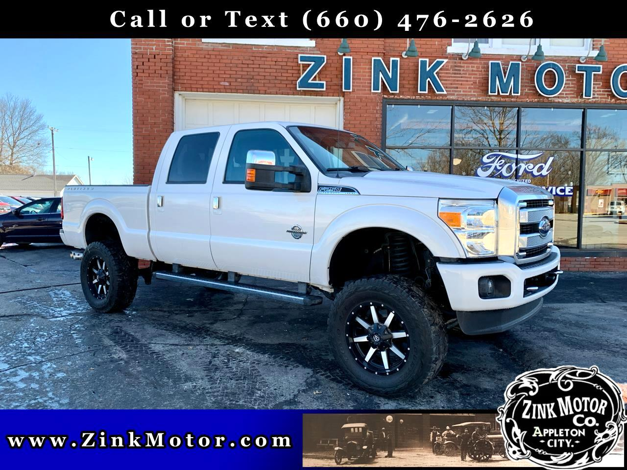 "Ford Super Duty F-250 Crew Cab 156"" Platinum Edition 4WD 2016"