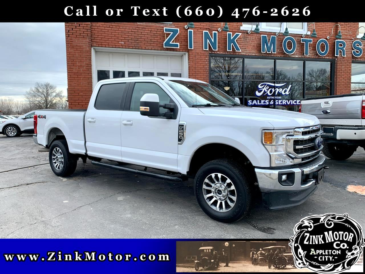 Ford Super Duty F-250 SRW Lariat 4WD Crew Cab 6.75' Box 2020