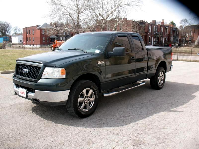 Ford F-150 XLT SuperCab Long Bed 4WD 2005