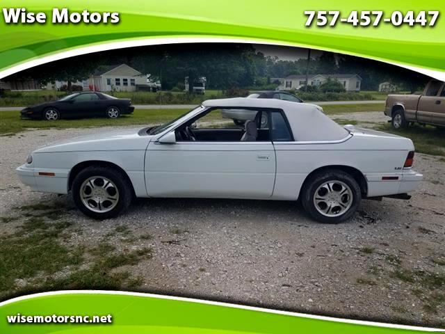 1995 Chrysler LeBaron Convertible