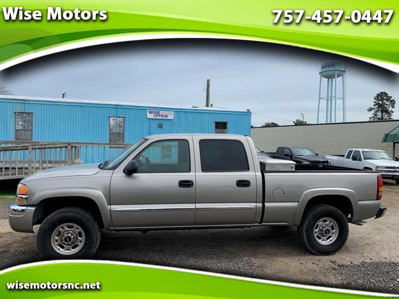 GMC Sierra 1500 HD SLE Crew Cab Short Bed 4WD 2003