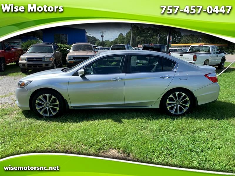 Honda Accord Sport Sedan CVT 2013