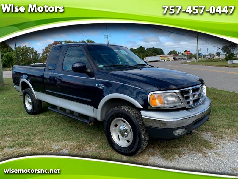 Ford F-150 XL SuperCab Long Bed 4WD 2001