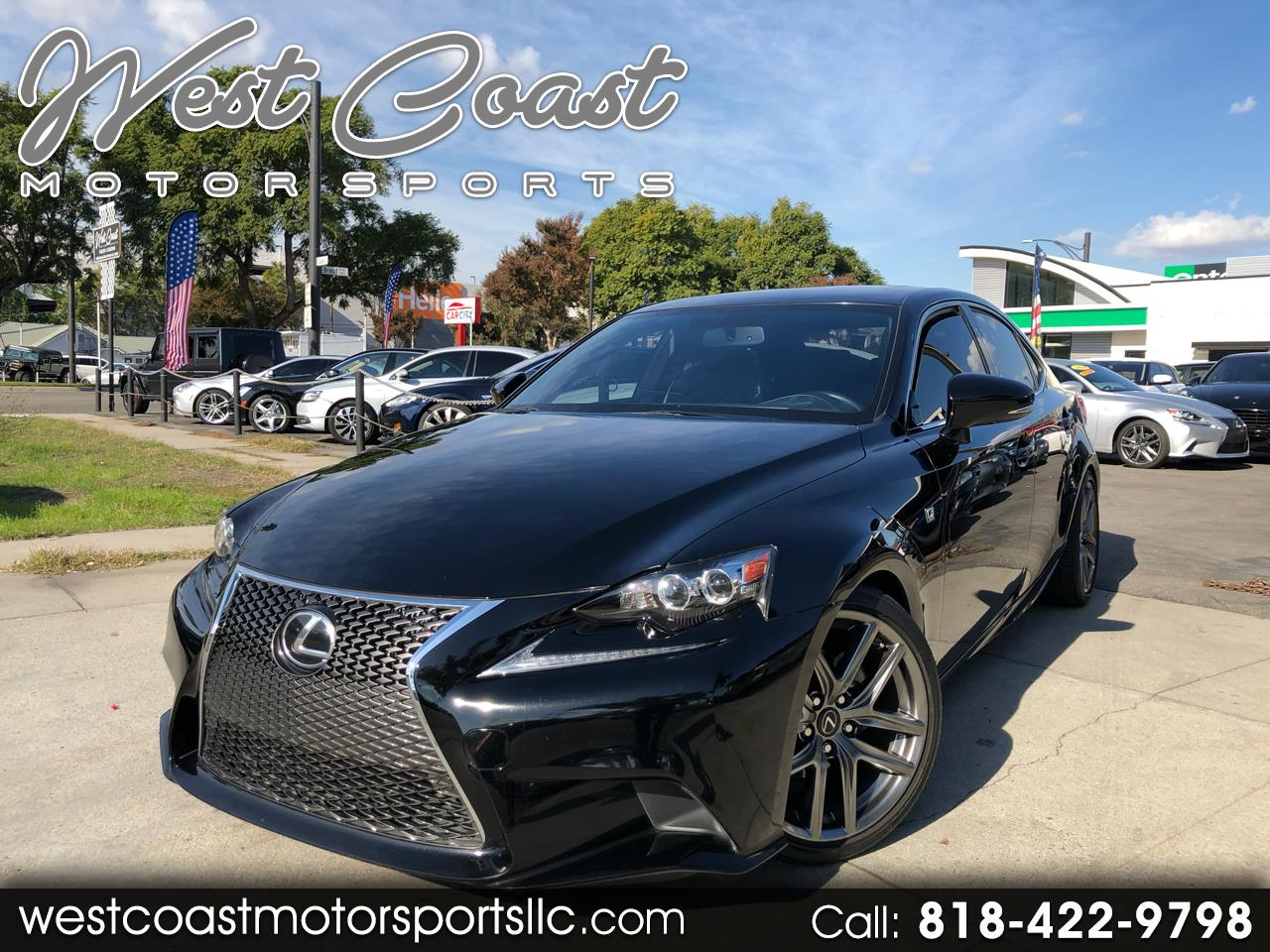 2014 Lexus IS 250 F SPORT RWD
