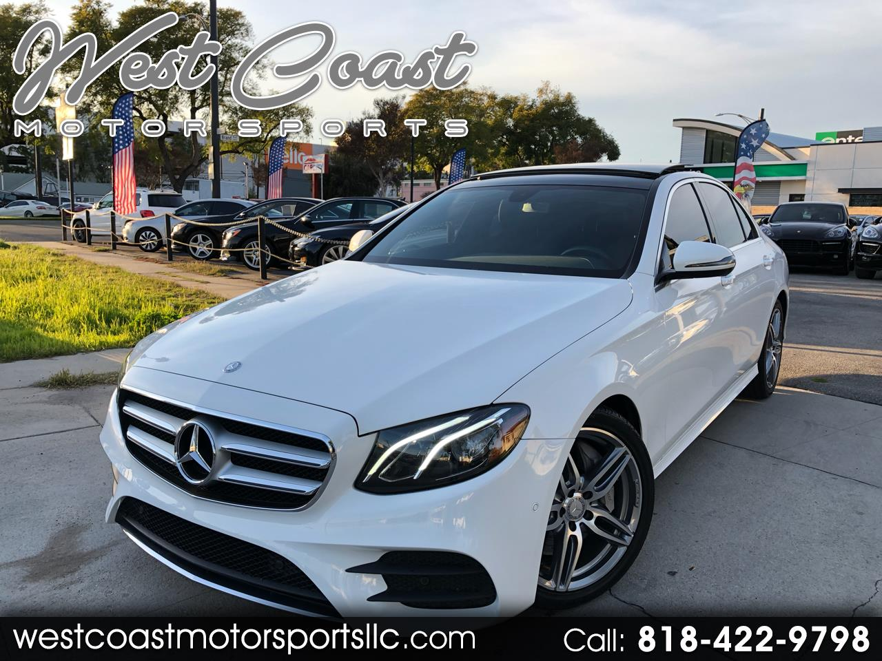 Mercedes-Benz E-Class E 300 Sport RWD Sedan 2017