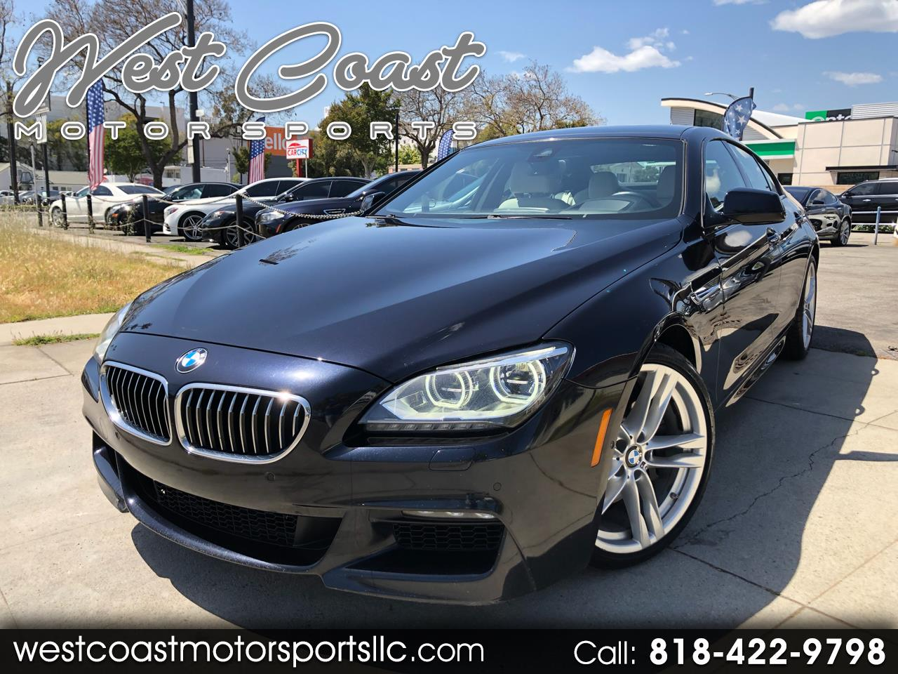 2014 BMW 6-Series Gran Coupe 640i M Sport, Heads Up Display, Night Vision, Inte